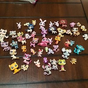 Littlest Pet Shop Toys Cats Dogs Miscellaneous